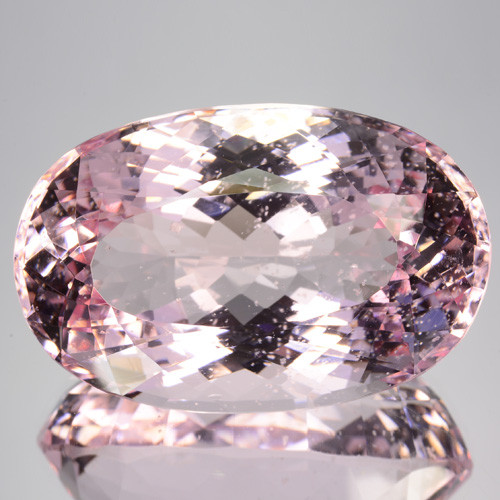 ~RARE~ 60.14 Cts Natural Unheated Pink Morganite Oval Cut Brazil