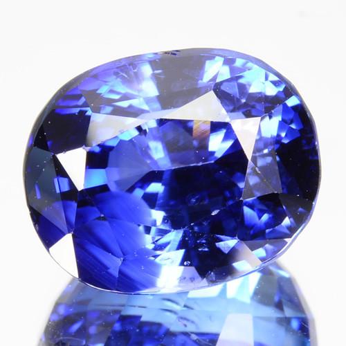 ~GORGEOUS~ 9.61 Cts Natural Blue Sapphire Oval Cut Sri Lanka