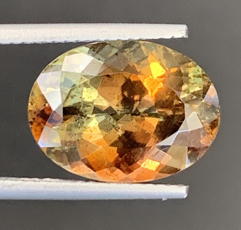 6.75 Carats Natural Double Shade Color Andalusite Gemstones