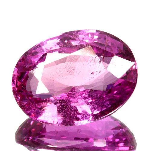 ~FABULOUS~ 3.78 Cts Natural Hot Pink Sapphire Oval Cut Sri Lanka