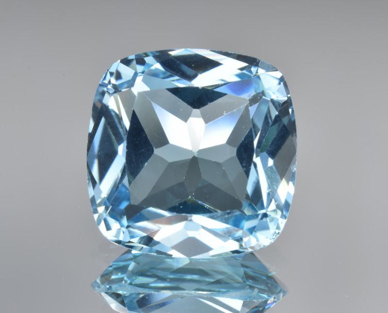Natural Blue Topaz 12.09 Cts Top Clean Gemstone