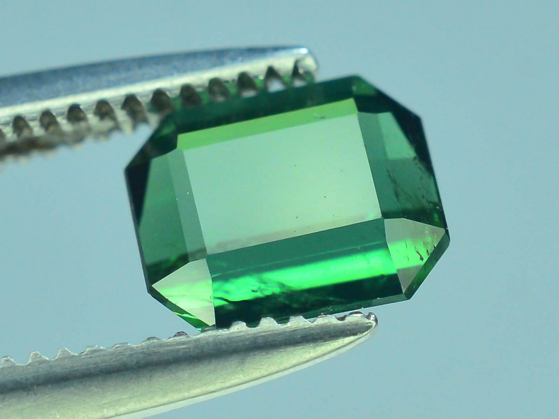Top Grade 0.70 ct Afghan Greenish Tourmaline ~S.K