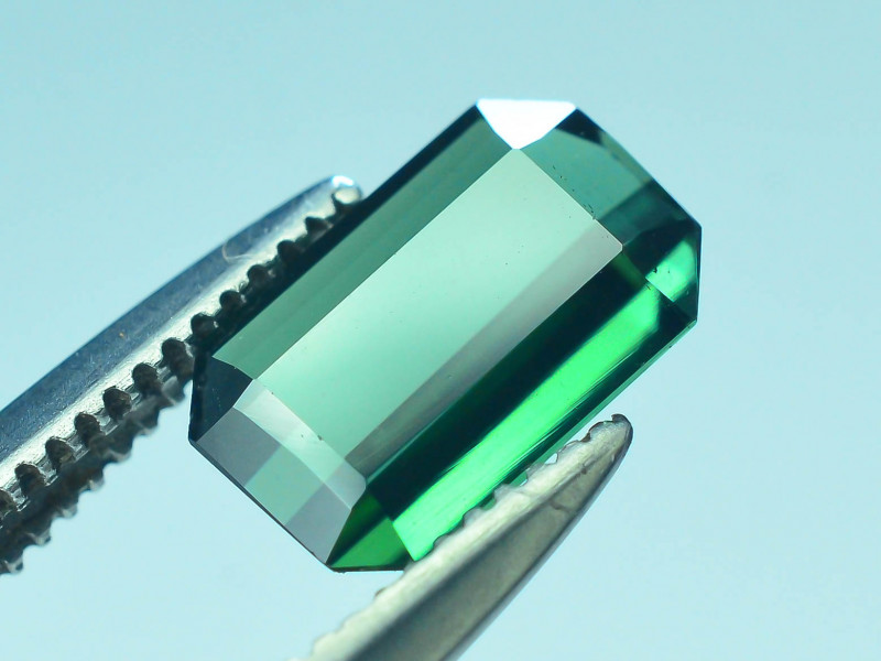 Top Grade 0.85 ct Afghan Greenish Tourmaline ~S.K