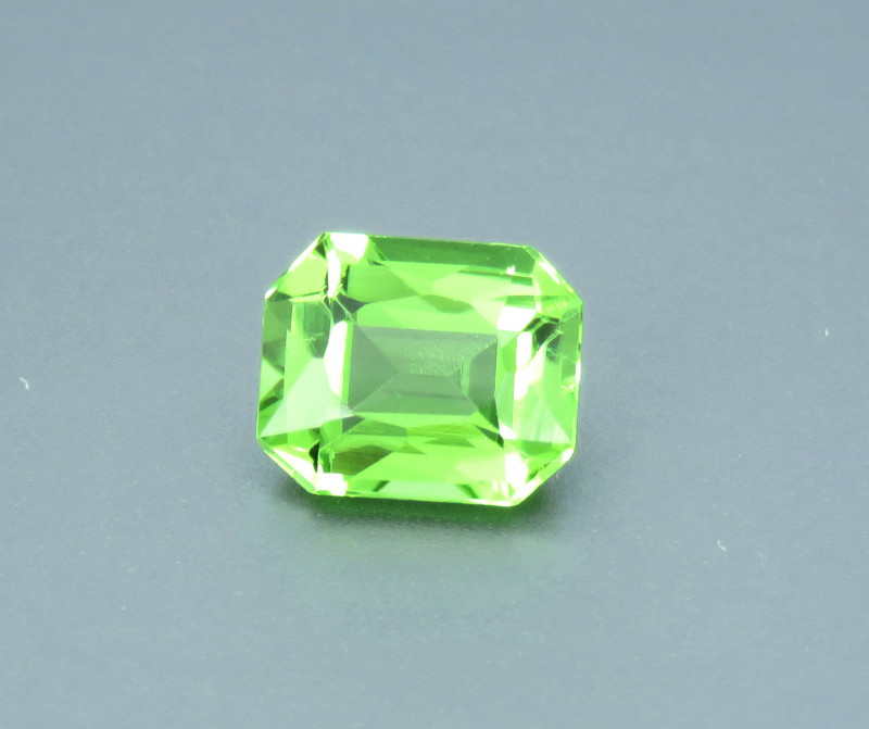 2.25 Carat Excellent Cut Natural Green Tourmaline from Afghanistan