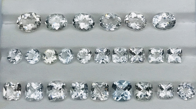 63 Carats Topaz Gemstones Parcel