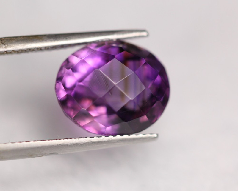 8.36Ct Natural Purple Amethyst  Oval Cut Lot LZ6253