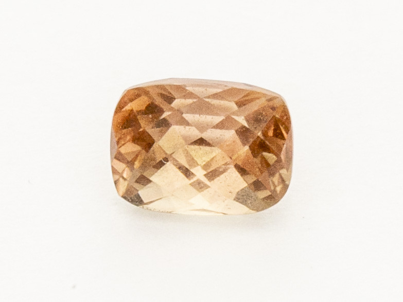1.25ct Checkered Peach Rectangle Cushion Oregon Sunstone (S2564)