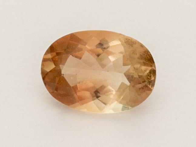 0.8ct Peach Oval Oregon Sunstone (S2571)
