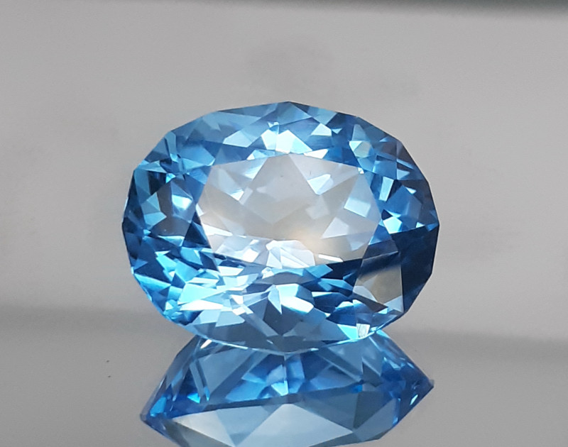 22.46Cts Natural  Blue Topaz Gems