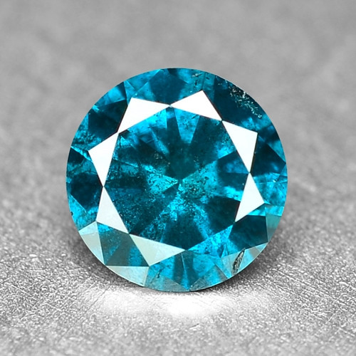 0.22 Cts Fancy Vivid Blue Color Loose Diamond