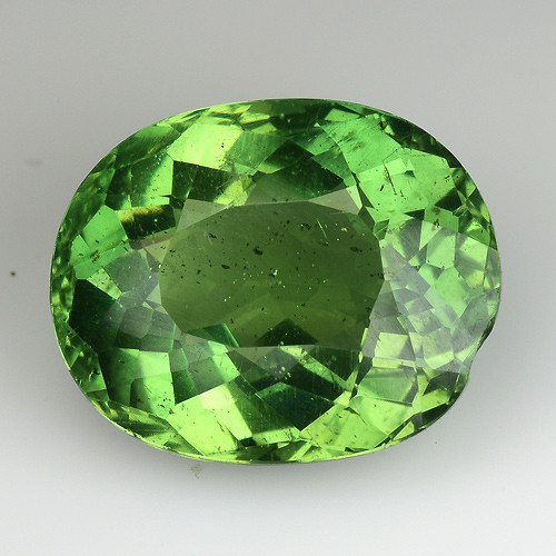 7.58 Cts Green Apatite ~ Awesome Color and Luster ~GA1