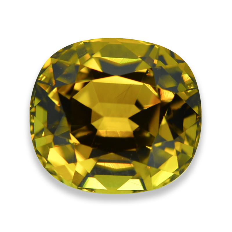6.94 Cts Stunning Lustrous Natural Olive Tourmaline