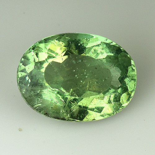 2.21 Cts Green Apatite ~ Awesome Color and Luster ~GA10
