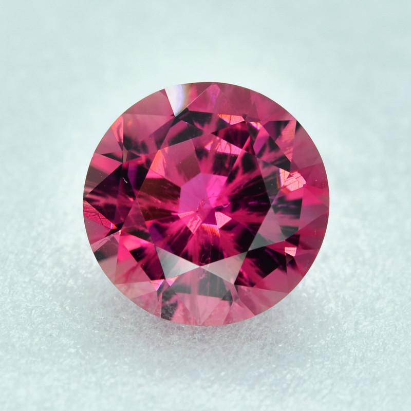5.61 Cts Stunning Lustrous Natural 12mm Round Pink Tourmaline
