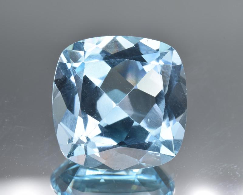Natural Blue Topaz 13.08 Cts Top Clean Gemstone