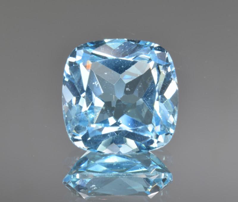 Natural Blue Topaz 13.49 Cts Top Clean Gemstone