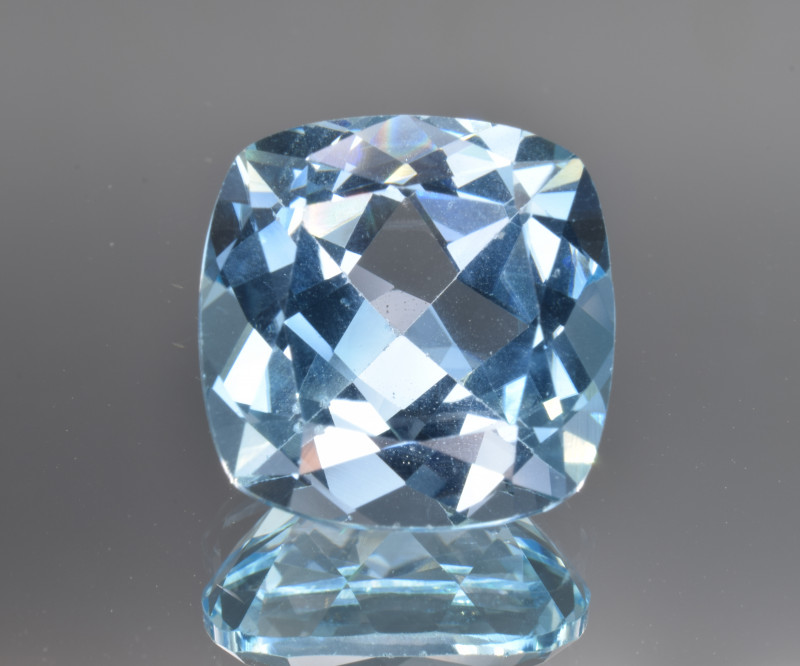 Natural Blue Topaz 14.09 Cts Top Clean Gemstone