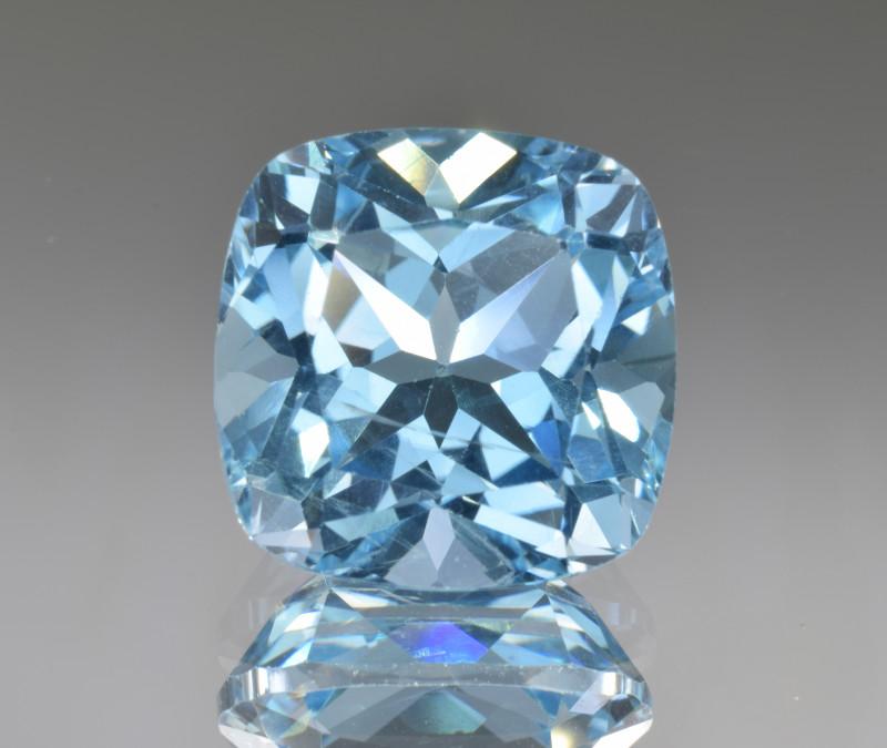 Natural Blue Topaz 14.33 Cts Top Clean Gemstone