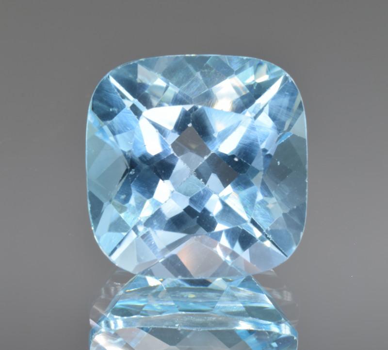 Natural Blue Topaz 15.49 Cts Top Clean Gemstone