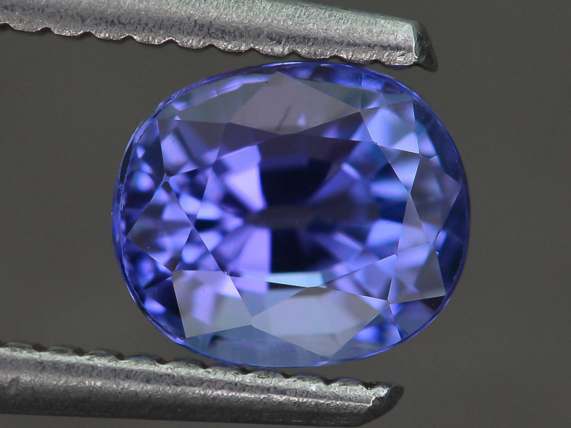 AAA Grade 1.47 ct Tanzanite eye catching Color SKU.24