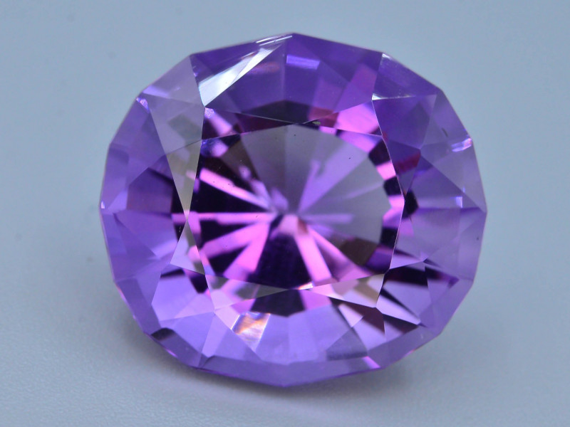 AAA Cut & Color  14.45 ct  Untreated Amethyst