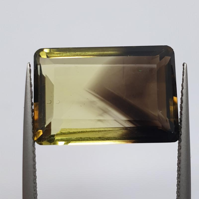 13.28 ct Bicolor Lemond Quartz 18x13mm(SKU170)