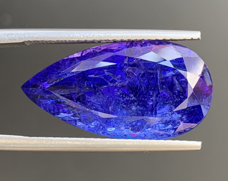 AAA Color 12.60 Carats Tanzanite Gemstone