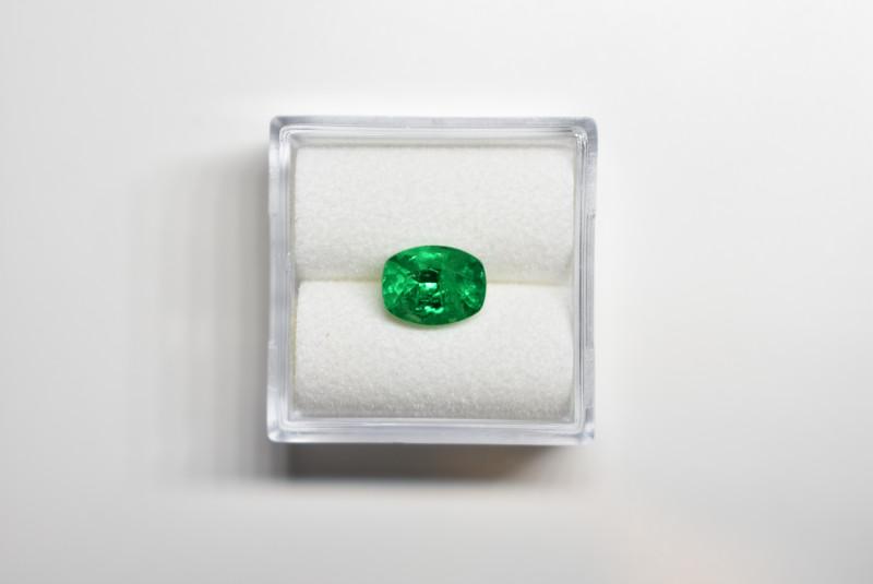 1.15 Carats Vivid Green AFGHAN (Panjshir) Emerald!
