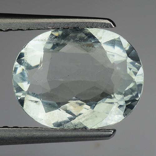 2.30 Ct Natural Aquamarine Top Luster Gemstone. AQ 11