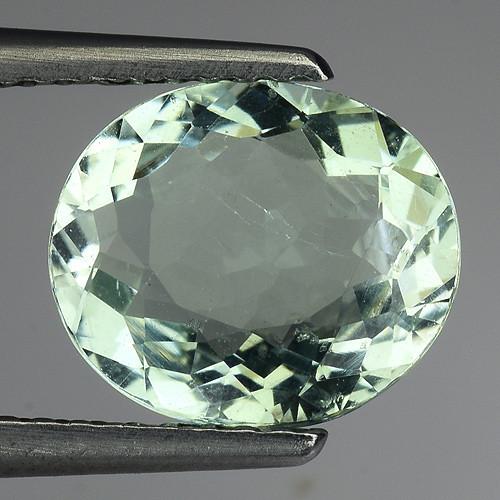 1.92 Ct Natural Aquamarine Top Luster Gemstone. AQ 17