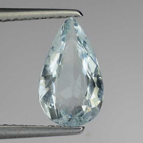 1.50 Ct Natural Aquamarine Top Luster Gemstone. AQ 18
