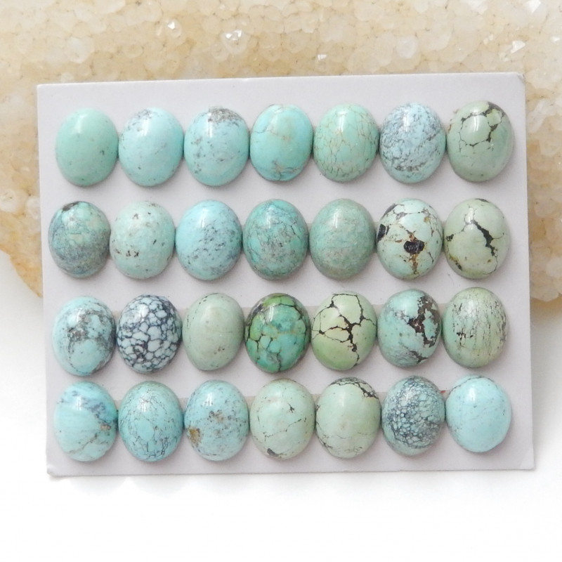 80cts Lucky Turquoise ,Handmade Gemstone ,Turquoise Cabochons ,Lucky Stone