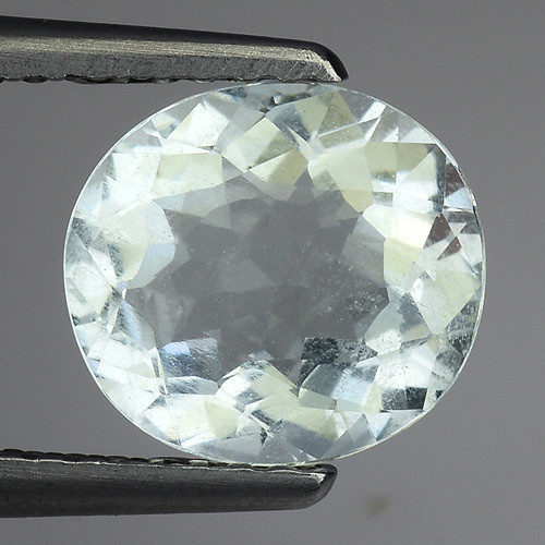 1.59 Ct Natural Aquamarine Top Luster Gemstone. AQ 22