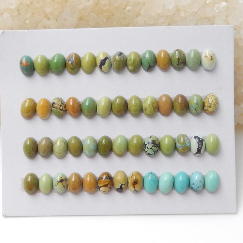 Tiny Turquoise ,Handmade Gemstone ,Turquoise Cabochons ,Lucky Stone F635