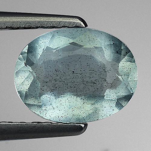 1.15 Ct Natural Aquamarine Top Luster Gemstone. AQ 25