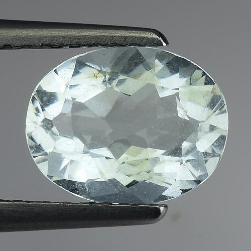 1.36 Ct Natural Aquamarine Top Luster Gemstone. AQ 27