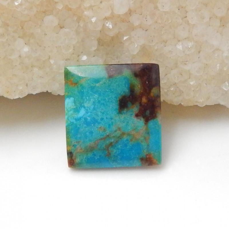 11.5cts Square Turquoise ,Handmade Gemstone ,Turquoise Cabochons F637