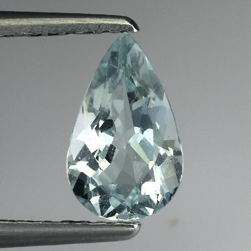 0.94 Ct Natural Aquamarine Top Luster Gemstone. AQ 34