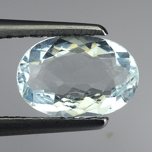 1.07 Ct Natural Aquamarine Top Luster Gemstone. AQ 38