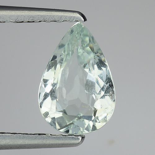 0.81 Ct Natural Aquamarine Top Luster Gemstone. AQ 40