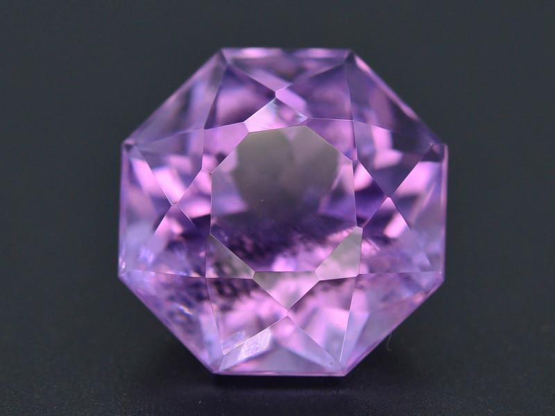 .Top Color 19.40 CT Natural Gorgeous Color Fancy Cut Amethyst ~ I B