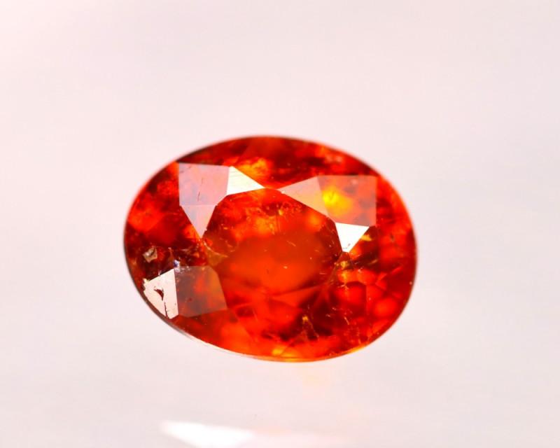 Garnet 1.24Ct Natural Vivid Orange Spessartite Garnet E0814/B34