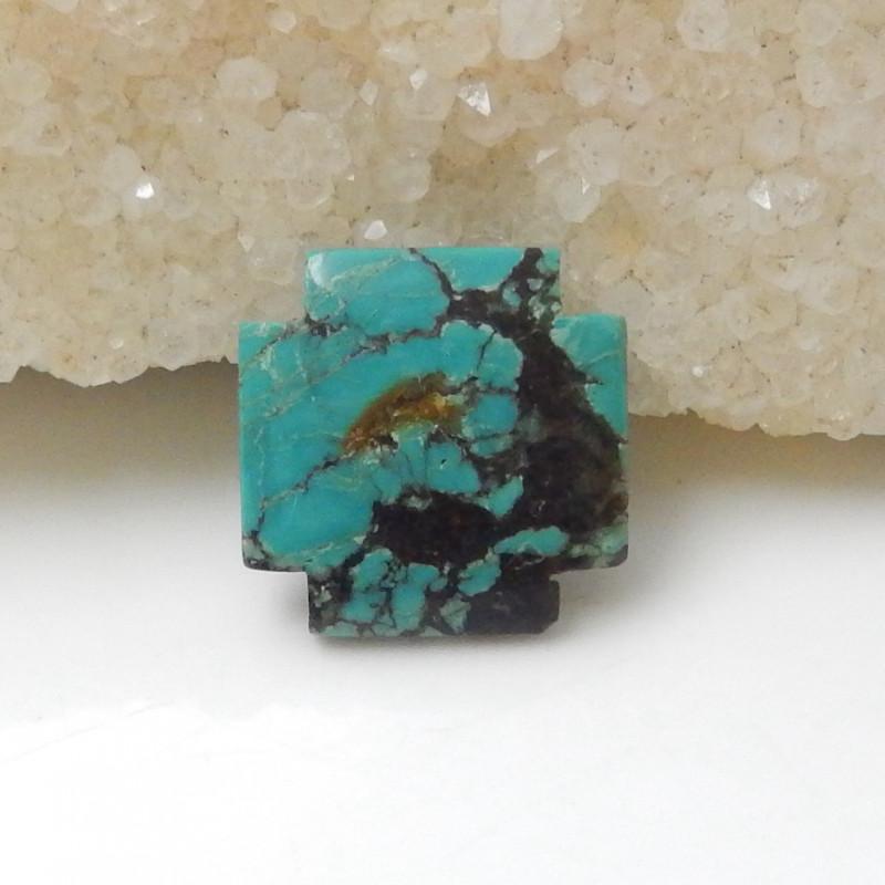 10.5cts Turquoise ,Handmade Gemstone ,Turquoise Cabochons ,Lucky Stone F668