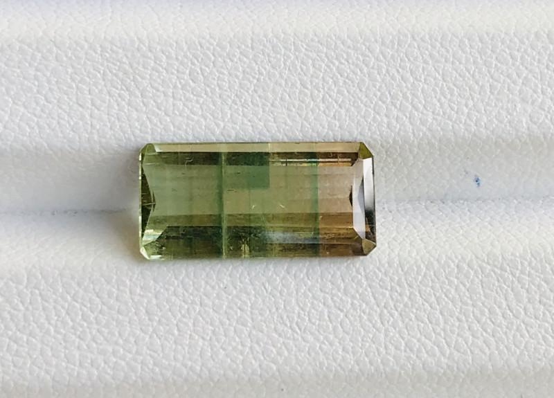 5.15 Carats  Natural Bi Color  Tourmaline Gemstones