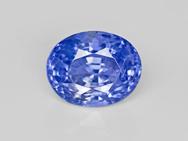 Blue Sapphire, 4.01ct - Mined in Sri Lanka | Certified by GIA & GII