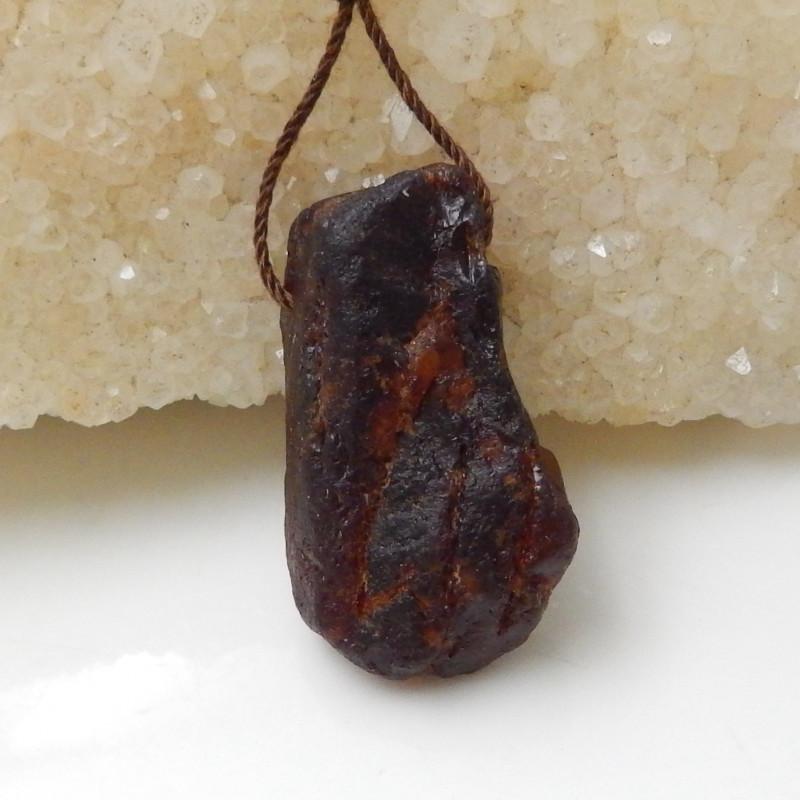 45.5cts Beautiful Nugget Garnet Pendant Bead, Healing Stone F715