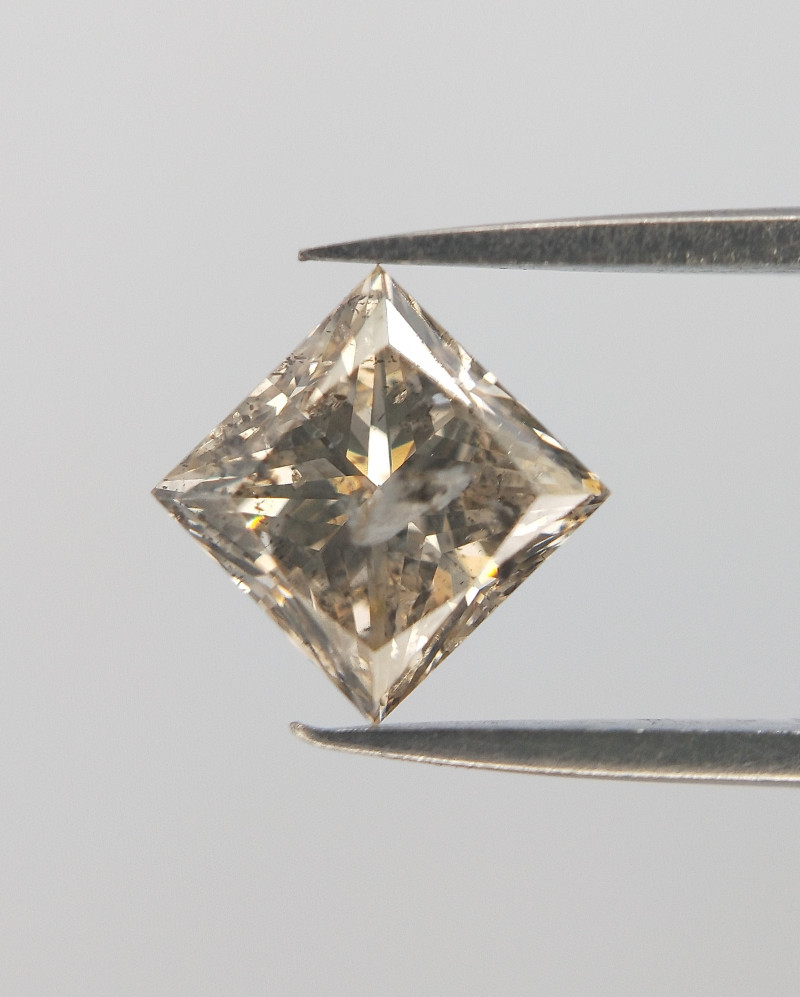 Fancy Color Diamond , Brown Diamond , 0.49 cts
