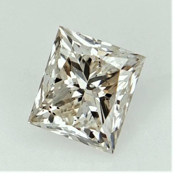 0.47 cts , natural loose diamond , fancy Princess shape Diamond