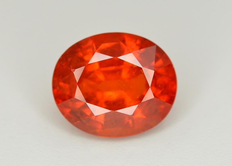 Fanta Orange Color 3.65 Ct Natural Spessartite Garnet. RA