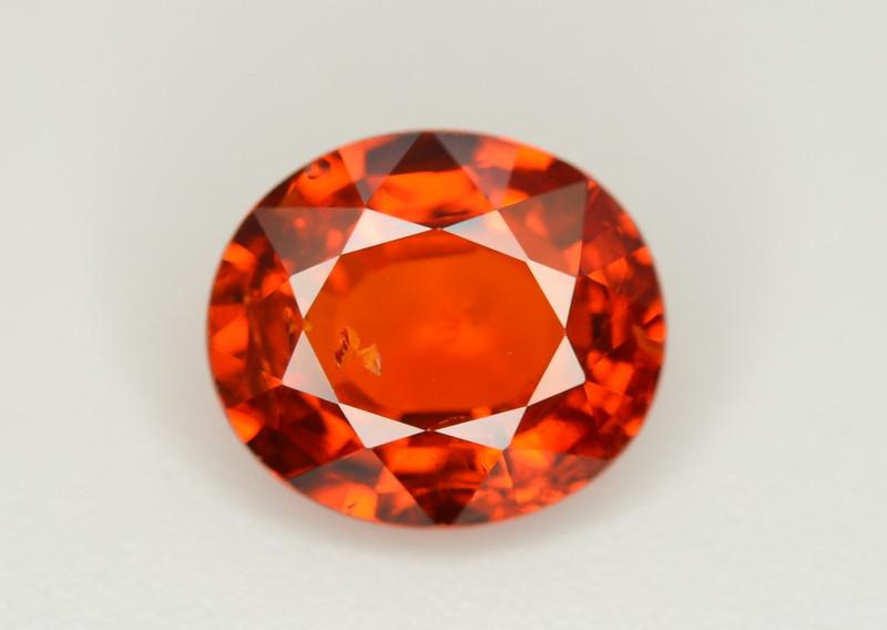 Fanta Orange Color 2.95 Ct Natural Spessartite Garnet. RA